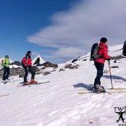a-group-of-mountaineers-skiing-on-mount-ararat